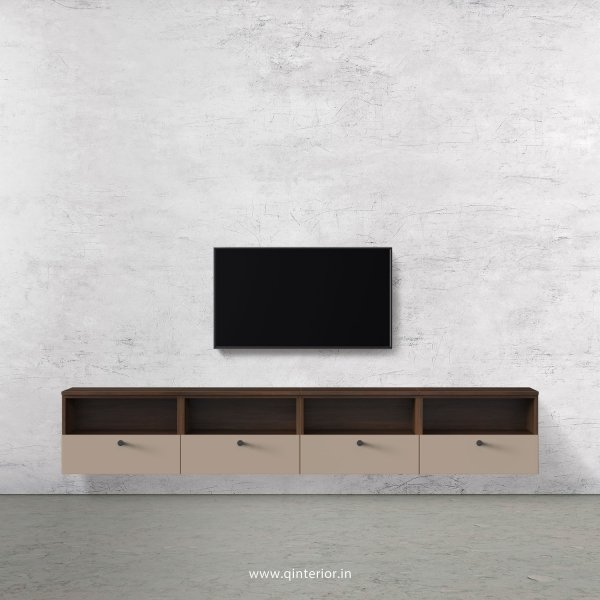 Lambent TV Wall Unit in Walnut and Cappuccino Finish – TVW009 C13