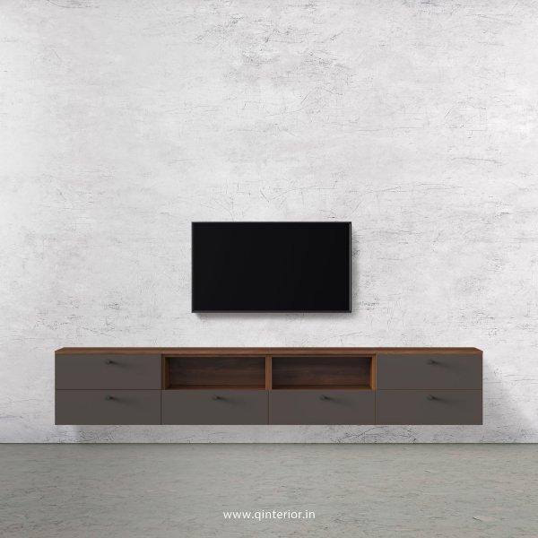 Lambent TV Wall Unit in Teak and Slate Finish – TVW011 C15