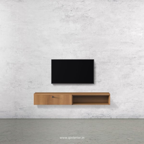 Stable TV Wall Unit in Oak Finish – TVW002 C2