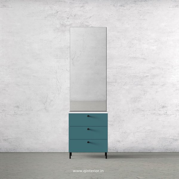 Lambent Dressing Table in White and Shore Finish – DRT003 C12