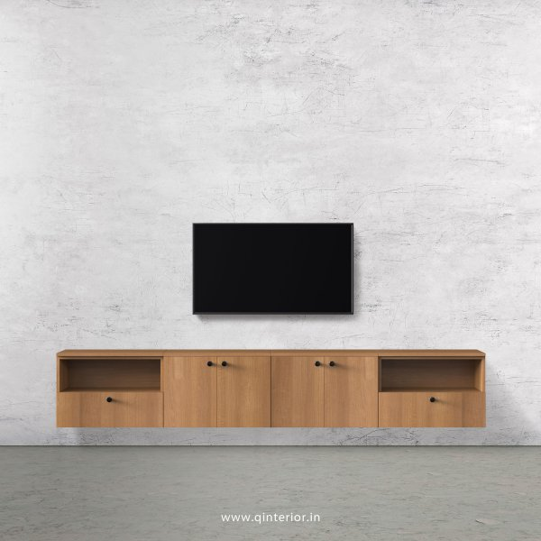 Stable TV Wall Unit in Oak Finish – TVW013 C2