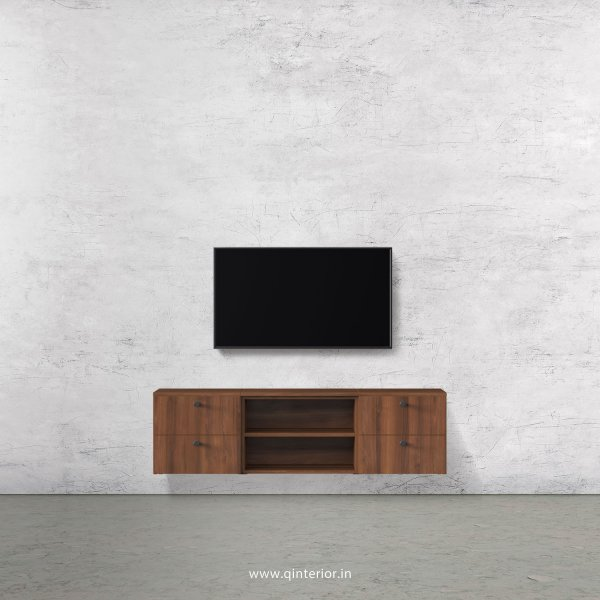 Stable TV Wall Unit in Teak Finish – TVW004 C3