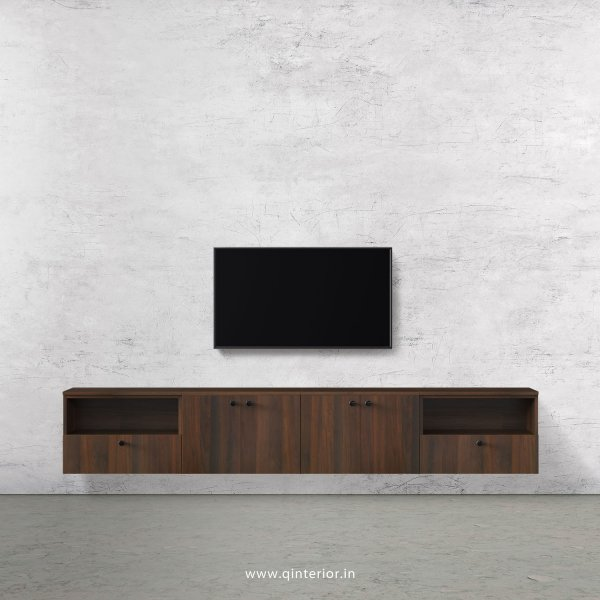 Stable TV Wall Unit in Walnut Finish – TVW013 C1