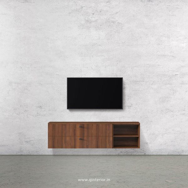 Stable TV Wall Unit in Teak Finish – TVW005 C3