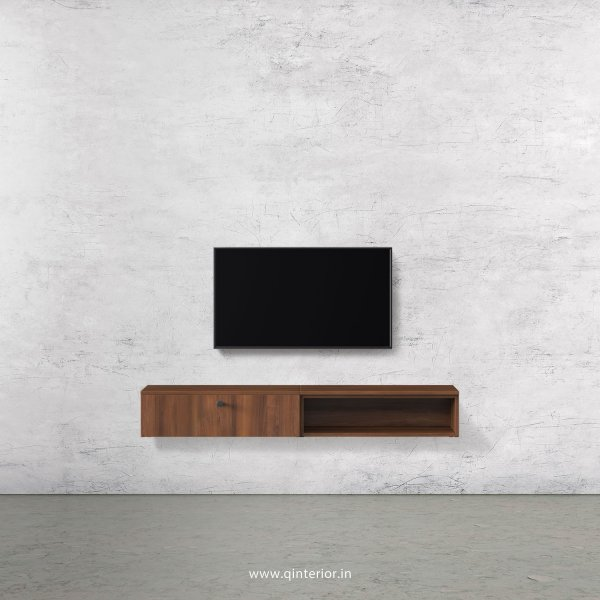 Stable TV Wall Unit in Teak Finish – TVW002 C3