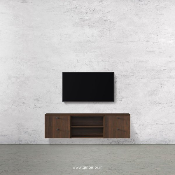 Stable TV Wall Unit in Walnut Finish – TVW004 C1