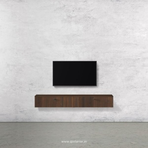 Stable TV Wall Unit in Walnut Finish – TVW001 C1