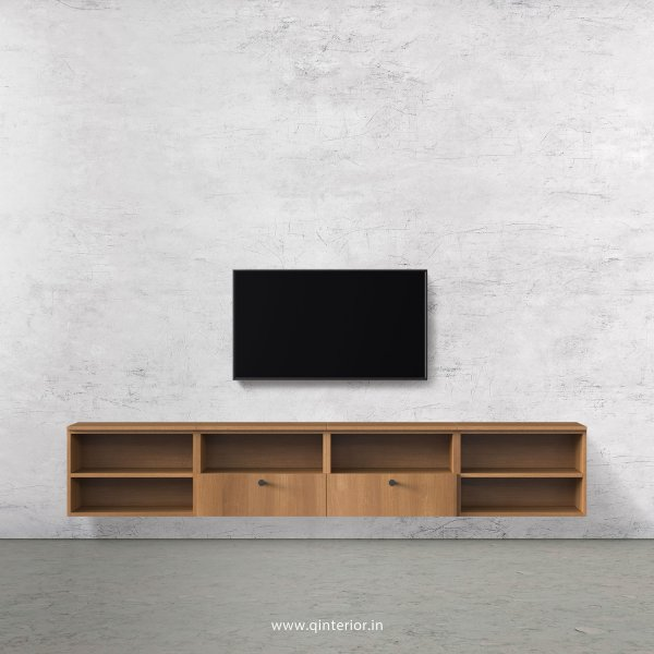 Stable TV Wall Unit in Oak Finish – TVW012 C2