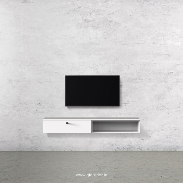Stable TV Wall Unit in White Finish – TVW002 C4