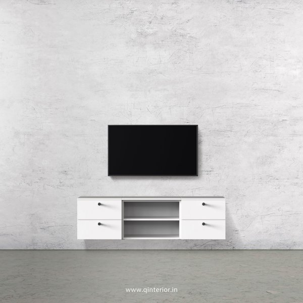 Stable TV Wall Unit in White Finish – TVW004 C4