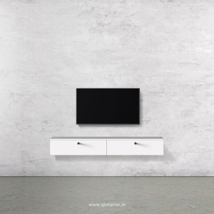 Stable TV Wall Unit in White Finish – TVW001 C4