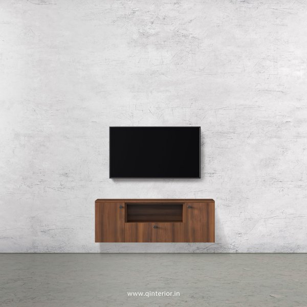 Stable TV Wall Unit in Teak Finish – TVW006 C3