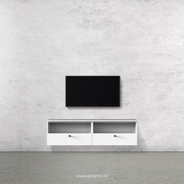Stable TV Wall Unit in White Finish – TVW003 C4