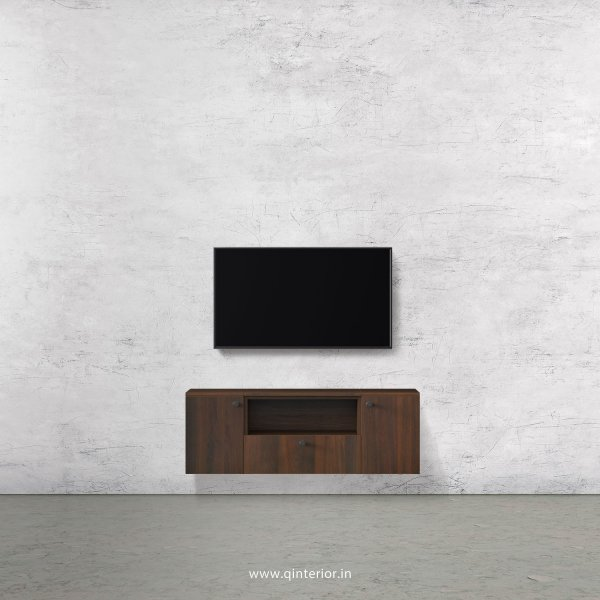 Stable TV Wall Unit in Walnut Finish – TVW006 C1