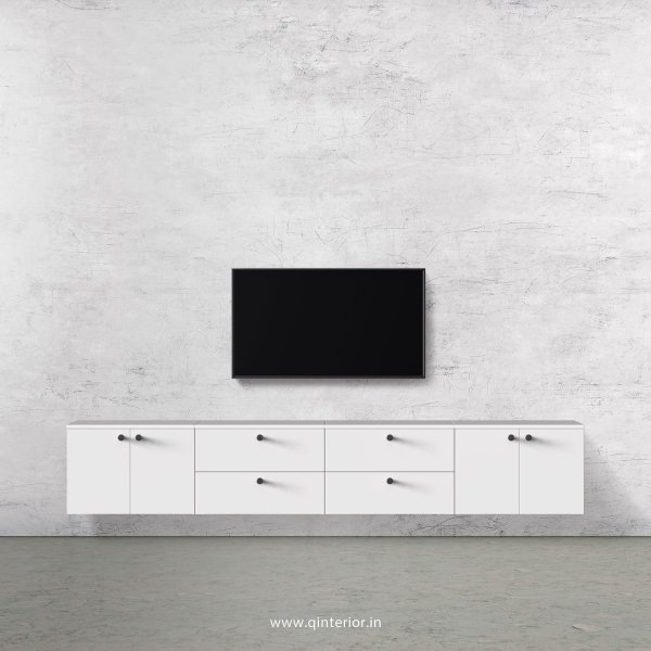 Stable TV Wall Unit in White Finish – TVW010 C4