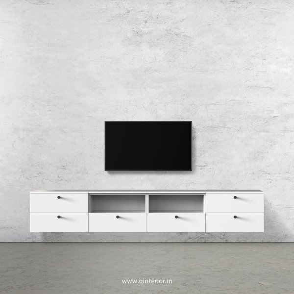 Stable TV Wall Unit in White Finish – TVW011 C4