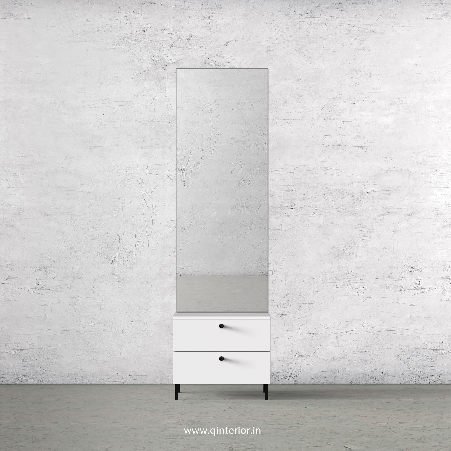 Stable Dressing Table in White Finish – DRT002 C4