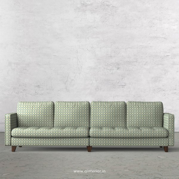 Albany 4 Seater Sofa in Jaquard Fabric - SFA005 JQ21