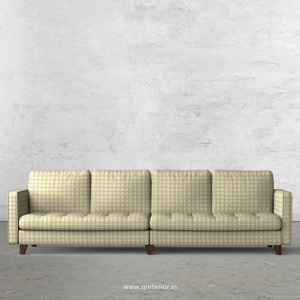 Albany 4 Seater Sofa in Jacquard Fabric - SFA005 JQ30