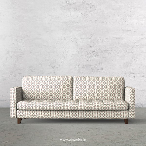 Albany 3 Seater Sofa in Jacquard Fabric - SFA005 JQ34