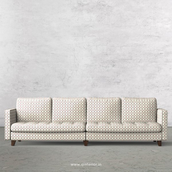 Albany 4 Seater Sofa in Jacquard Fabric - SFA005 JQ34