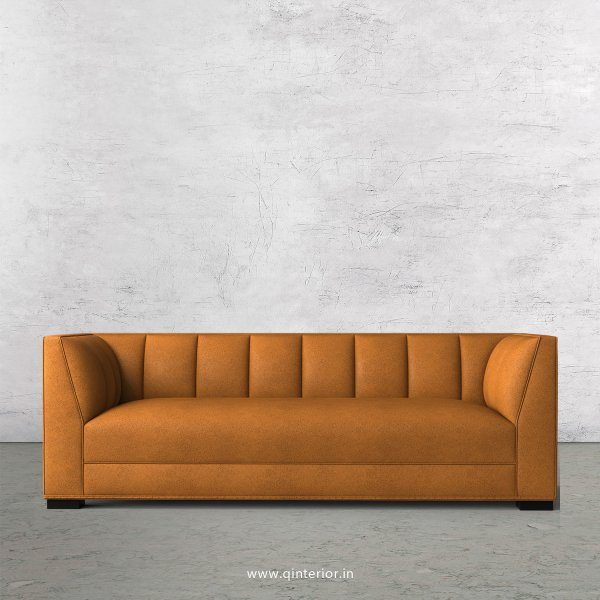 Amalia 3 Seater Sofa in Fab Leather Fabric - SFA006 FL14