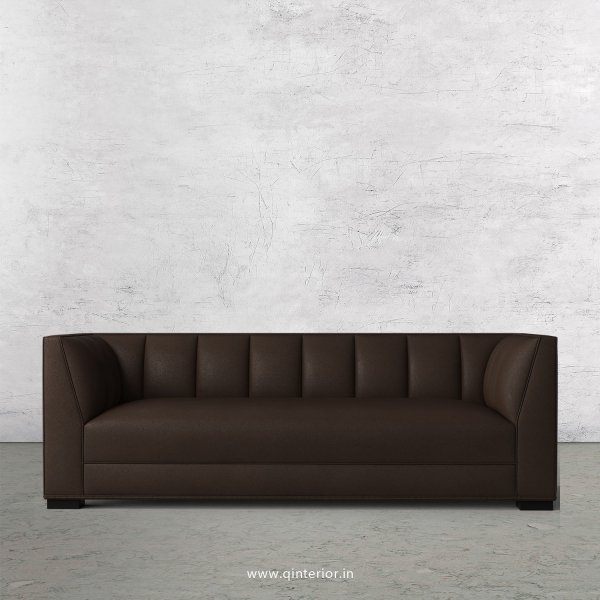 Amalia 3 Seater Sofa in Fab Leather Fabric - SFA006 FL16