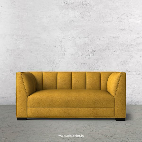 Amalia 2 Seater Sofa in Fab Leather Fabric - SFA006 FL18