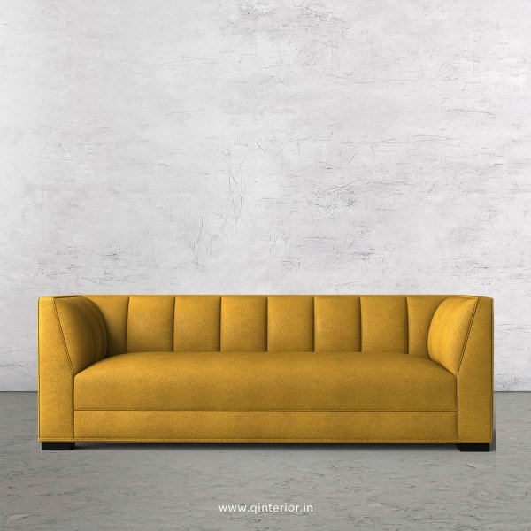 Amalia 3 Seater Sofa in Fab Leather Fabric - SFA006 FL18