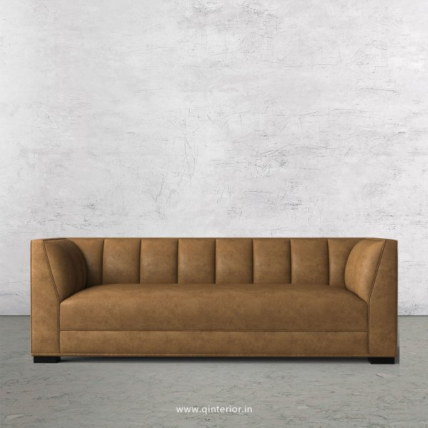 Amalia 3 Seater Sofa in Fab Leather Fabric - SFA006 FL02
