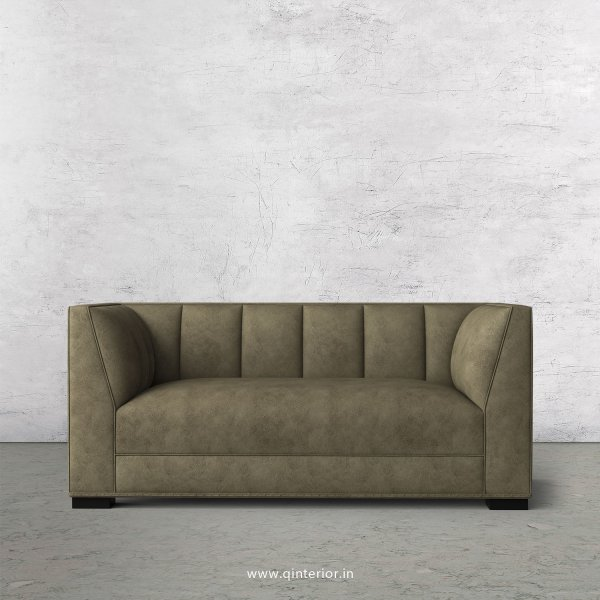 Amalia 2 Seater Sofa in Fab Leather Fabric - SFA006 FL03