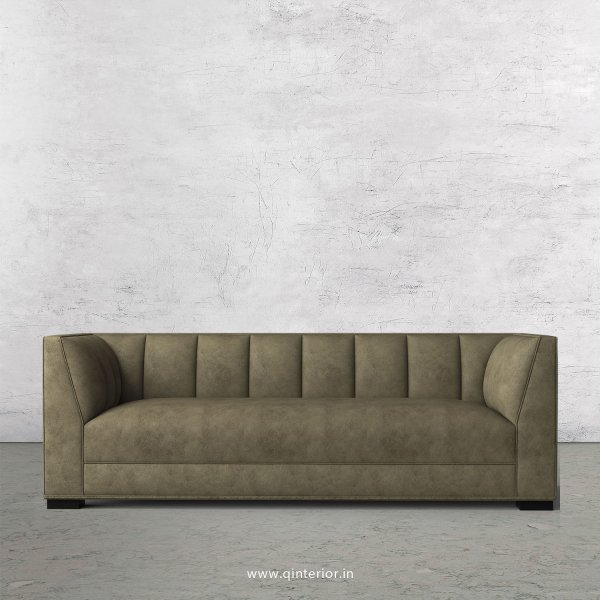 Amalia 3 Seater Sofa in Fab Leather Fabric - SFA006 FL03