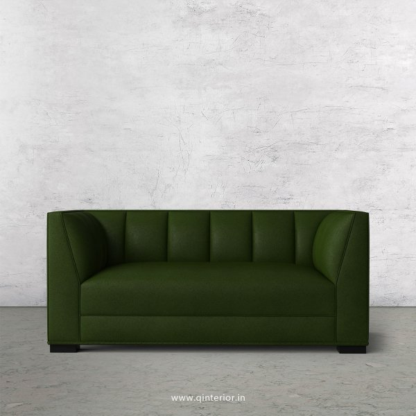 Amalia 2 Seater Sofa in Fab Leather Fabric - SFA006 FL04