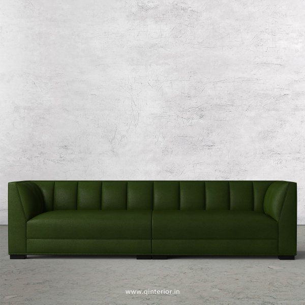 Amalia 4 Seater Sofa in Fab Leather Fabric - SFA006 FL04
