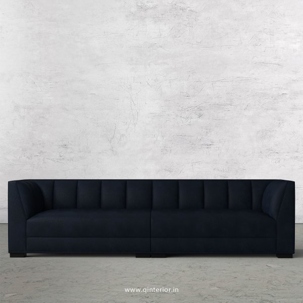 Amalia 4 Seater Sofa in Fab Leather Fabric - SFA006 FL05