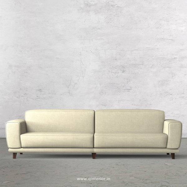 Avana 4 Seater Sofa in Cotton Fabric - SFA008 CP03