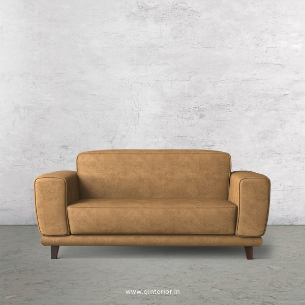 Avana 2 Seater Sofa in Fab Leather Fabric - SFA008 FL02