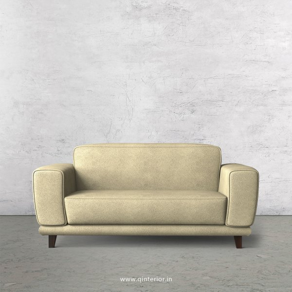 Avana 2 Seater Sofa in Fab Leather Fabric - SFA008 FL10