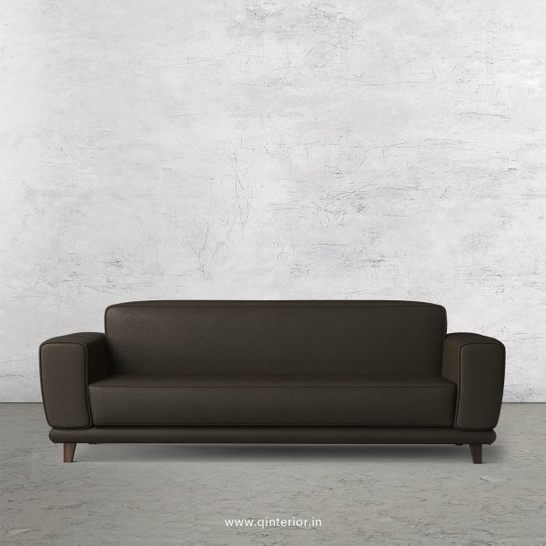 Avana 3 Seater Sofa in Fab Leather Fabric - SFA008 FL11