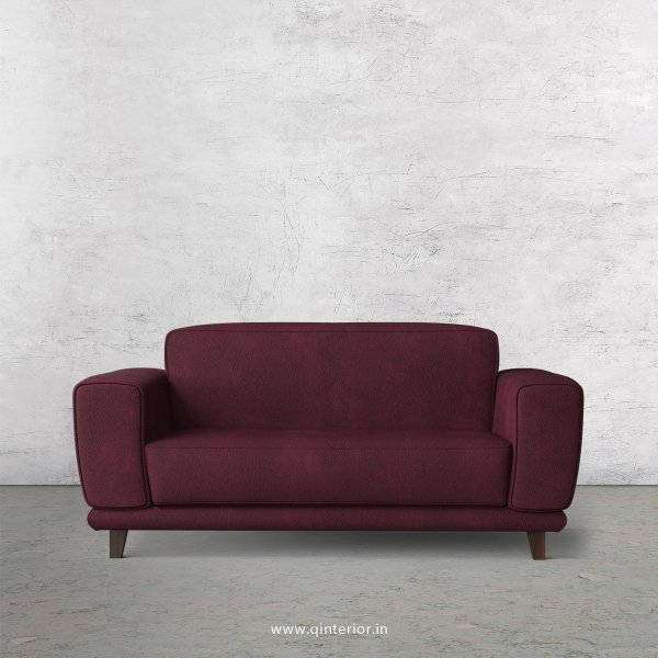 Avana 2 Seater Sofa in Fab Leather Fabric - SFA008 FL12
