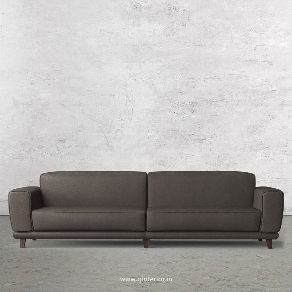 Avana 4 Seater Sofa in Fab Leather Fabric - SFA008 FL15