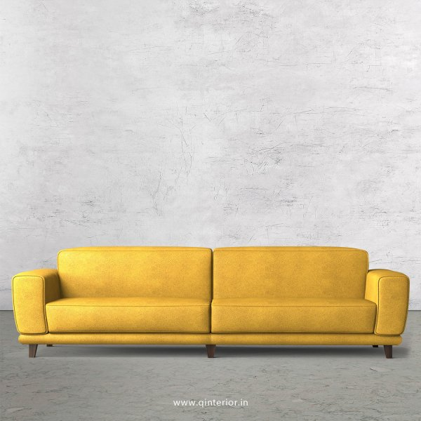 Avana 4 Seater Sofa in Fab Leather Fabric - SFA008 FL18