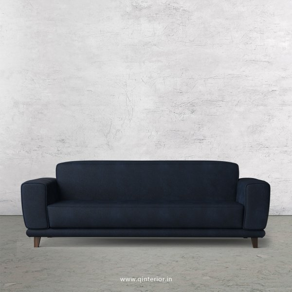 Avana 3 Seater Sofa in Fab Leather Fabric - SFA008 FL05
