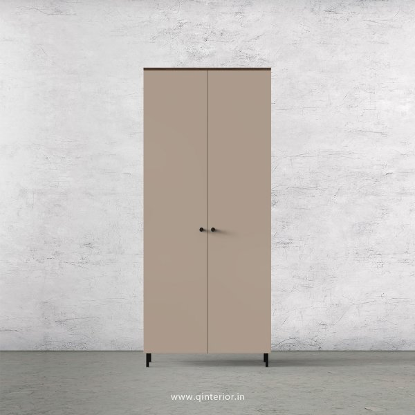 Lambent 2 Door Wardrobe in Walnut and Cappuccino Finish – DWRD001 C13