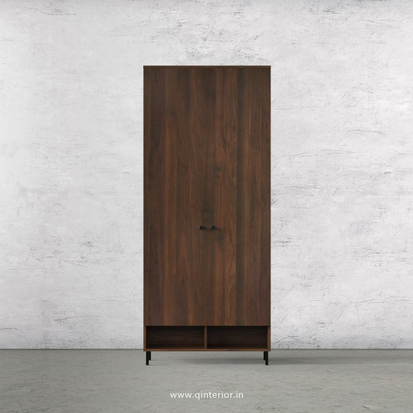 Stable 2 Door Wardrobe in Walnut Finish – DWRD020 C1