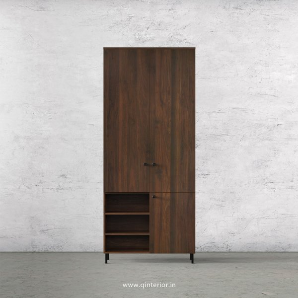 Stable 2 Door Wardrobe in Walnut Finish – DWRD039 C1
