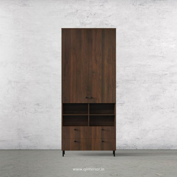 Stable 2 Door Wardrobe in Walnut Finish – DWRD049 C1