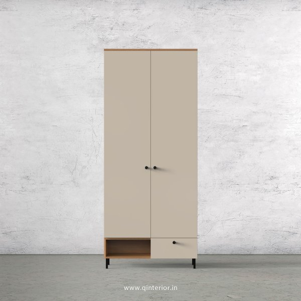 Lambent 2 Door Wardrobe in Oak and Irish Cream Finish – DWRD023 C21