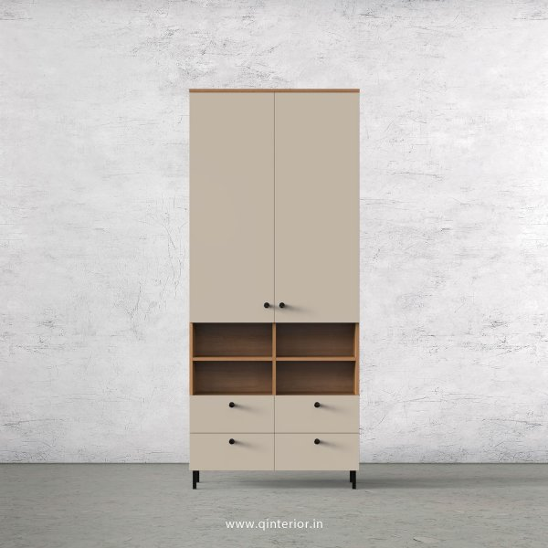 Lambent 2 Door Wardrobe in Oak and Irish Cream Finish – DWRD049 C21