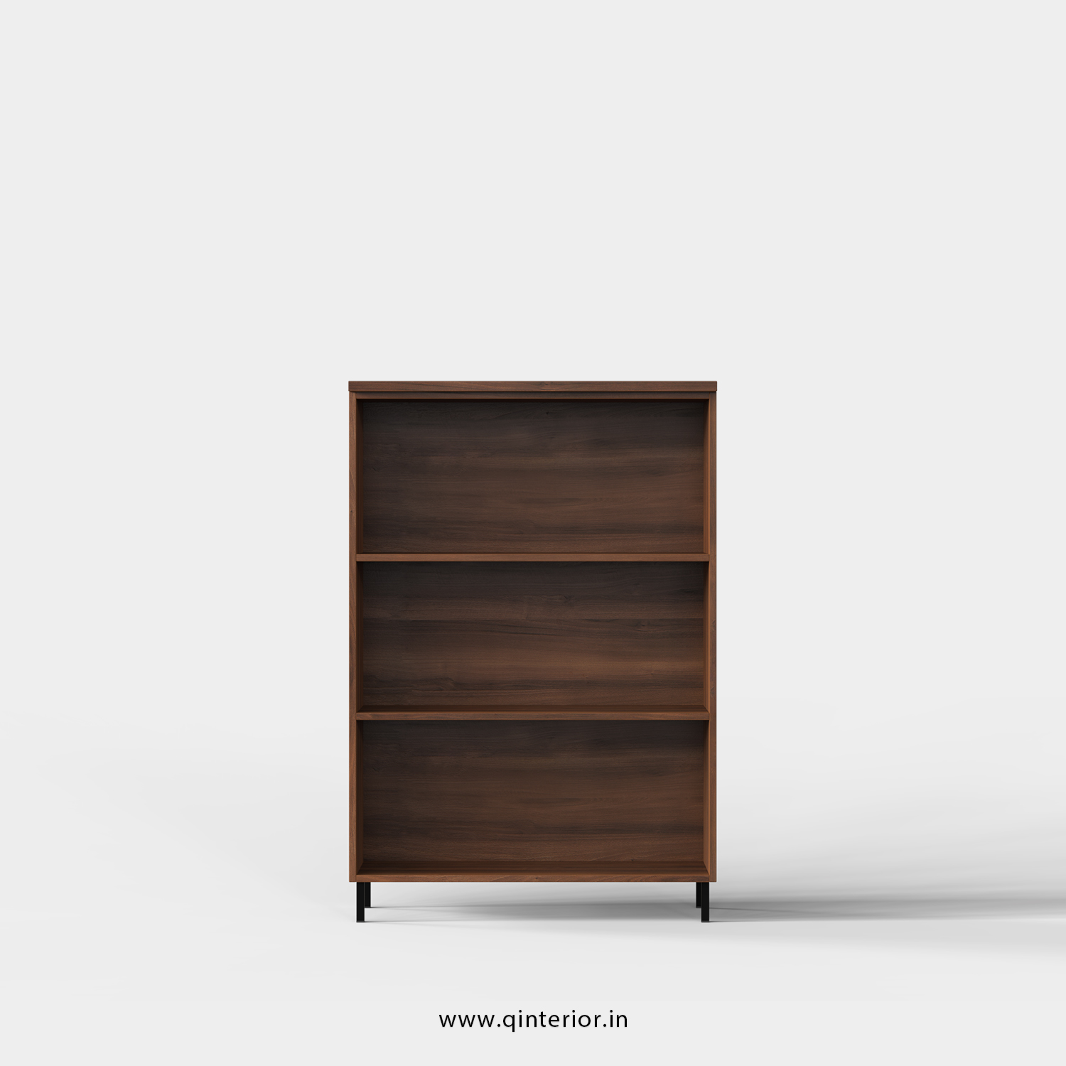 Stable Office File Storage in Teak Finish - OFS001 C3